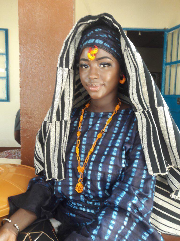 Traditionele trouw kleding