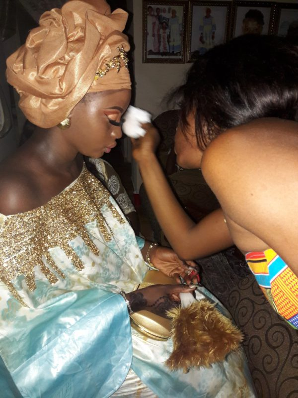Make-up bijwerken