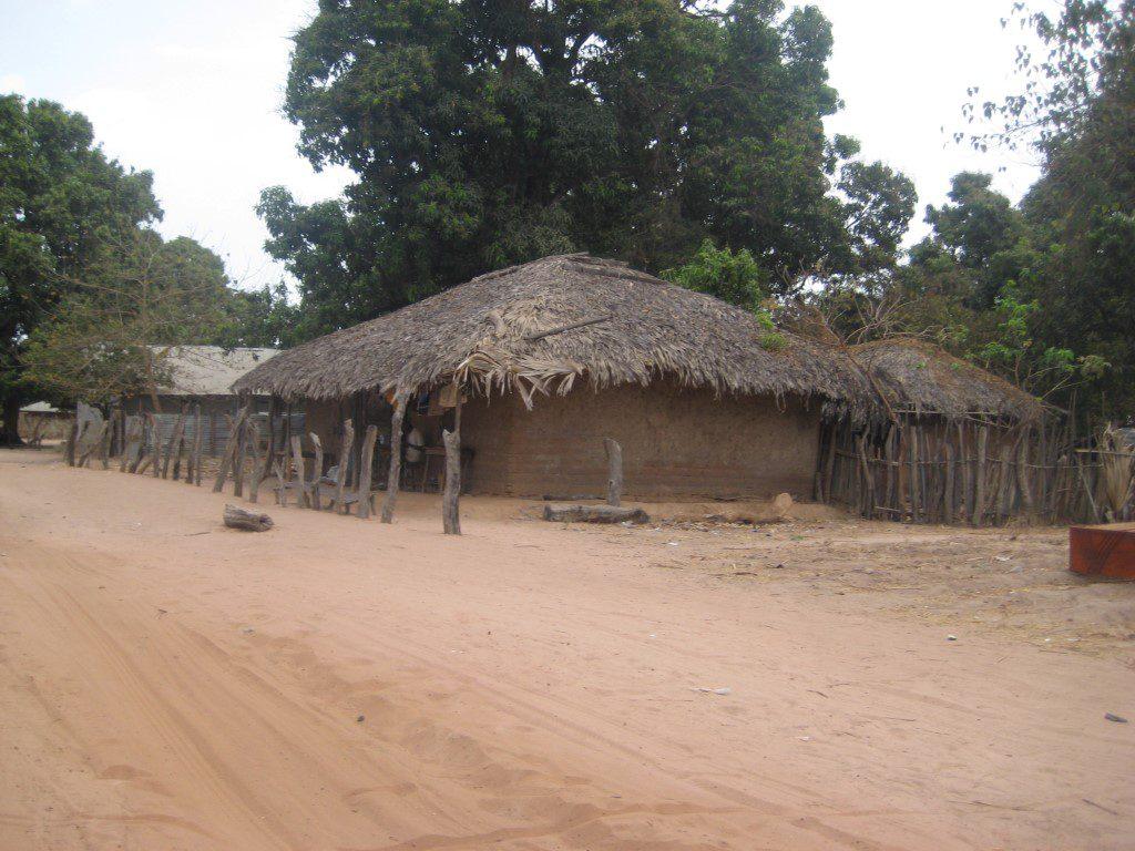 Huizen in binnenland